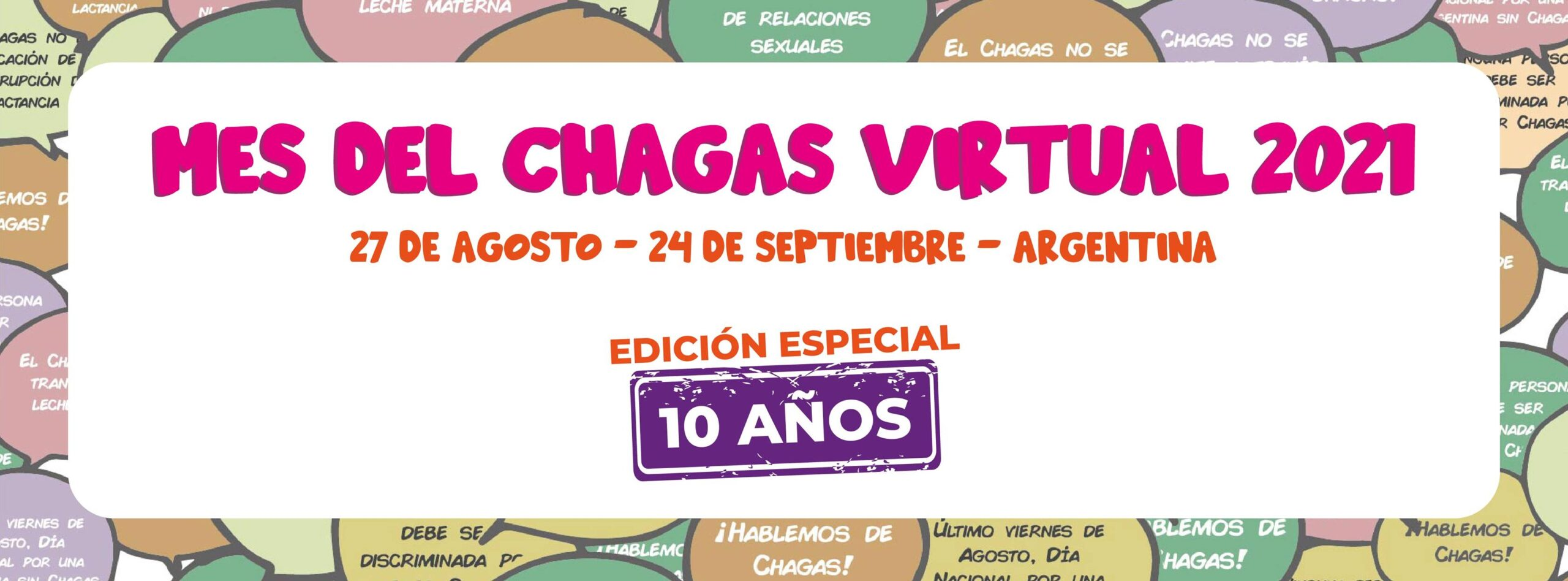 Banner mes del Chagas 2021